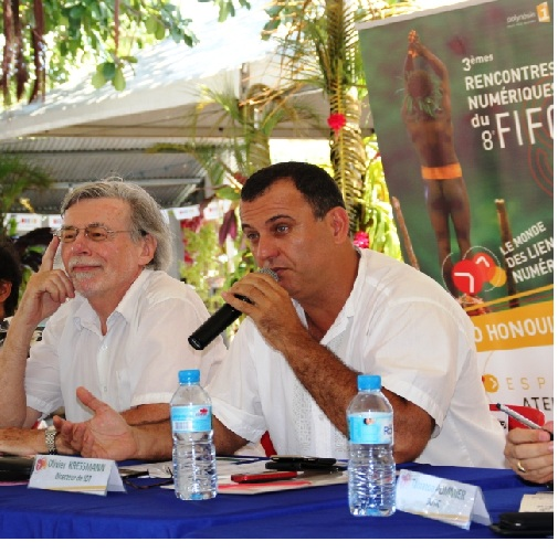 Lancement des 2emes rencontres numériques du FIFO : La polynésie épouse les mondes numériques